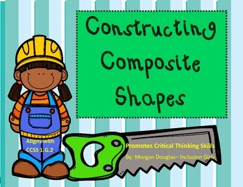 Composite Shape Pattern Block task cards- Critical thinkin