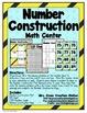 Constructing Numbers Math Center Bundle