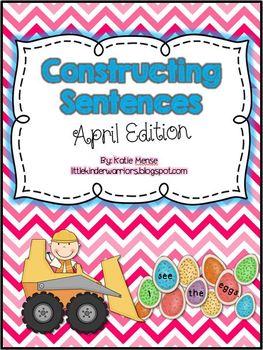 Constructing Sentences for April