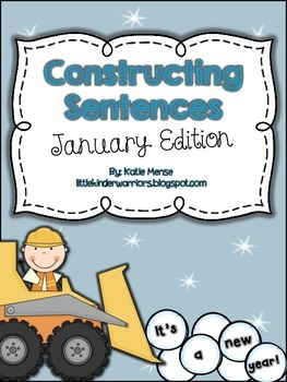 Constructing Sentences for January