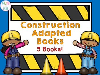 Construction Adapted Books! 5 Books Included