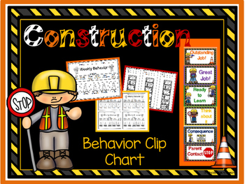 Construction Behavior Clip Chart