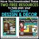 CONSTRUCTION THEME Decor - 3 EDITABLE Clutter-Free Classro