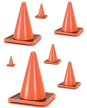 Construction Cone Size Sequencing