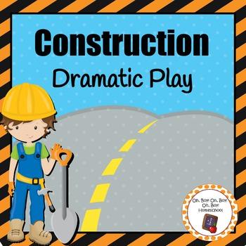 Construction Dramatic Play Area
