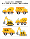 Construction Equations - Addition Doubles Facts