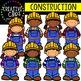 Construction KIDS {Creative Clips Digital Clipart}