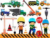 Construction Machines Clip Art dump cement transporation W