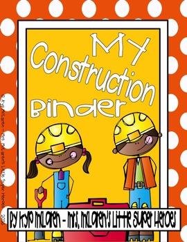 Construction Organizational Binder (Full Color or Black/White)