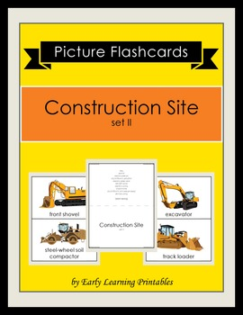 Construction Site (set II) Picture Flashcards