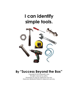 "Construction Tools: ""I can identify simple tools"""