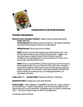 Construction of an Earth Scientist