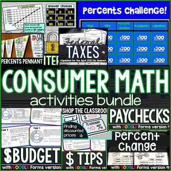 Consumer Math bundle