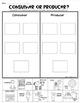 Consumer OR Producer Sort Sheet {Economics} First Grade &