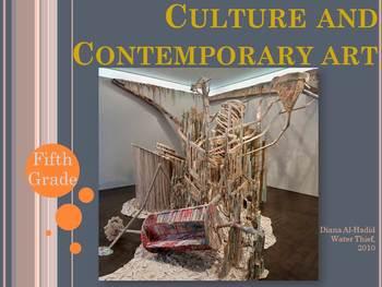 Elementary Art Lesson: Contemporary Digital Art Critical T