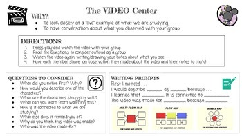Content Area Literacy Task Cards