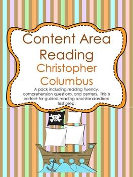 Content Area Reading: Christopher Columbus (Fluency & Comp