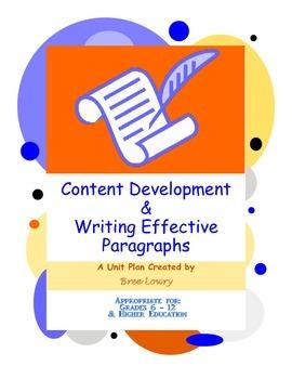 Content Development & Writing Effective Paragraphs - Compl