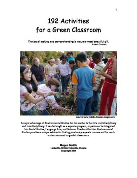 Teaching the Environment and Ecology: 192 Activities