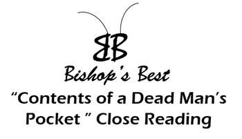 Contents of Dead Man's Pocket Close reading mood, voc, inf