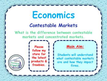 Contestable Markets & Market Concentration - A-Level Econo