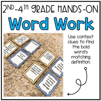 Context Clue Matching (1st Grade)