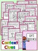 Context Clues Lesson Plan, Task Cards, Printable Worksheet
