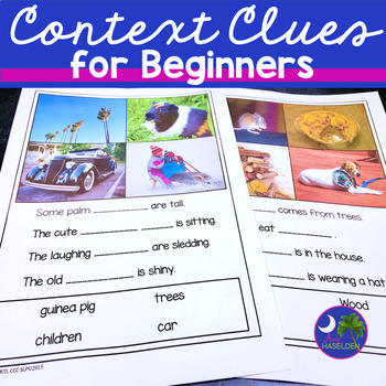 Context Clues for Primary Grades Real Photos