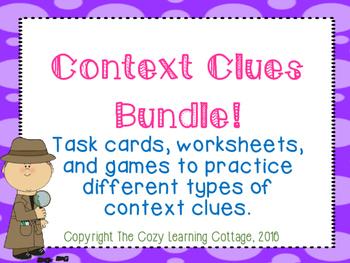 Context Clues Bundle!