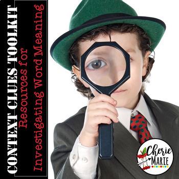 Context Clues 3rd & 4th Grade Common Core RL3.4 RL4.4