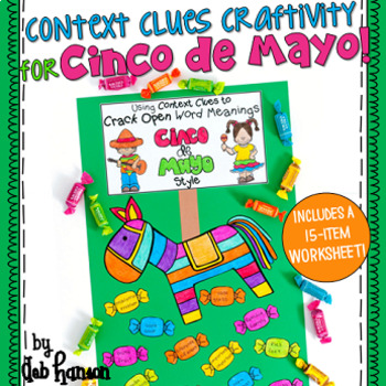Context Clues Craftivity for Cinco de Mayo