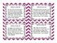 Context Clues Task Cards CCSS RL5.4