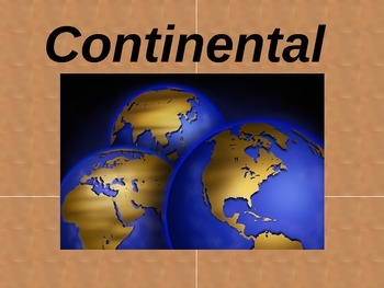 Continental Drift Powerpoint