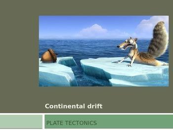 Continental Drift PowerPoint Presentation