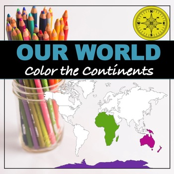 "Continents and Oceans ""Coloring"""
