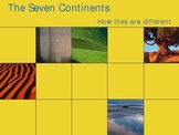 Continents Powerpoints