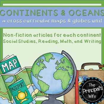 Continents and Oceans Unit