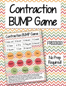 Contraction BUMP Game [Freebie!]