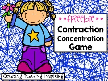 Contraction Concentration Game **FREEBIE**