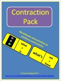 Contraction Pack - Worksheets and Activities