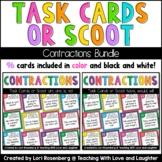 Scoot or Task Card Bundle Pack: Contractions Edition