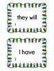 Contraction Scoot - Holiday Theme