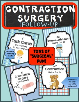 Contraction Surgery Follow-Up Activities