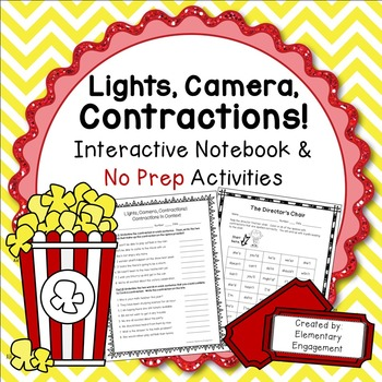 Contractions No Prep Printables
