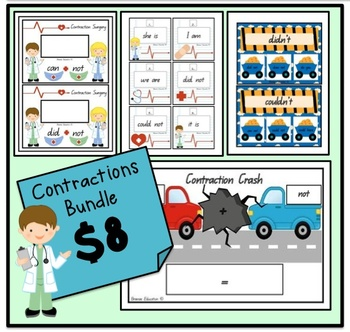 Contractions *BUNDLE*