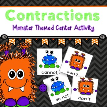 Contractions (Monster Themed)