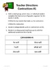 Contractions in Sentences: 2nd - 3rd Grade Common Core Pra