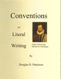 Conventions of Literal Writing