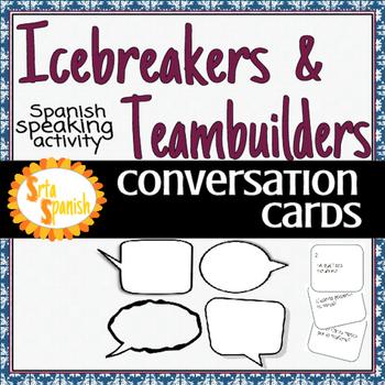 Conversation Cards- Icebreakers & Team builders