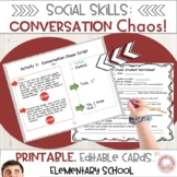 Social Language: Conversation Chaos!! Improve Conversation